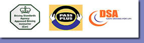 Driving Logos - Driving Standards Agency, Pass Plus, DSA