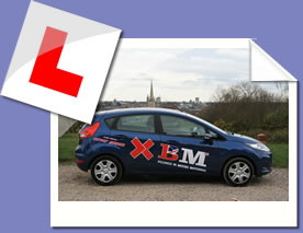 Norwich Driving Instructors Car - XBM